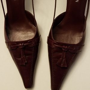 Michael Shannon Leather Heels